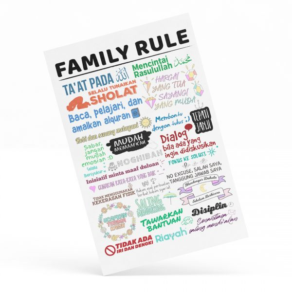 Poster Riayah: Family Rule